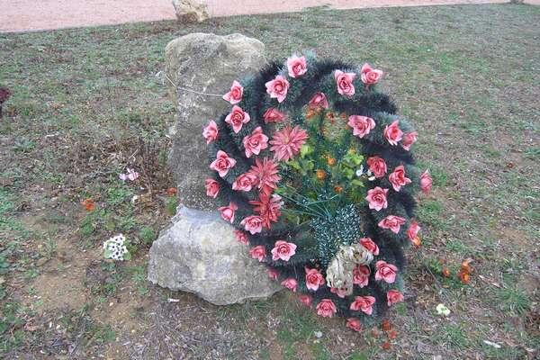 Камень с венком
