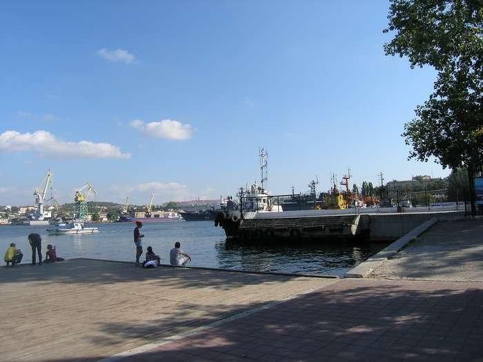 Место гибели крейсера 2009 г.