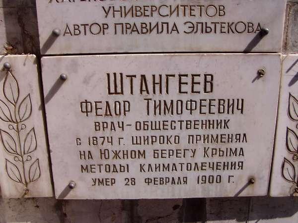 Штангеев Ф.Т.
