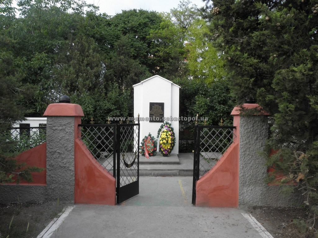 Современный вид кладбища 128 гсд