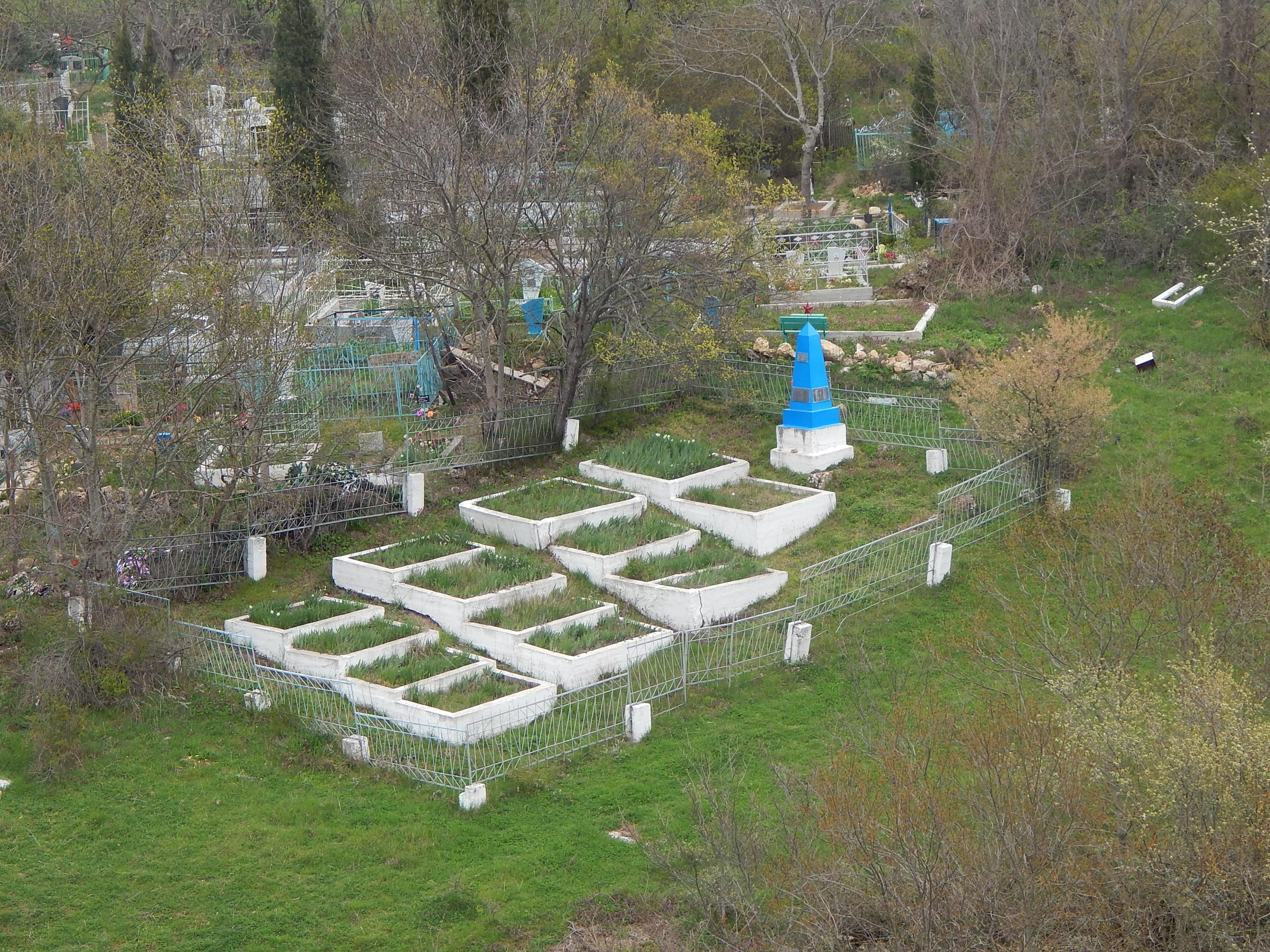 Братское кладбище 383 СД - общий вид