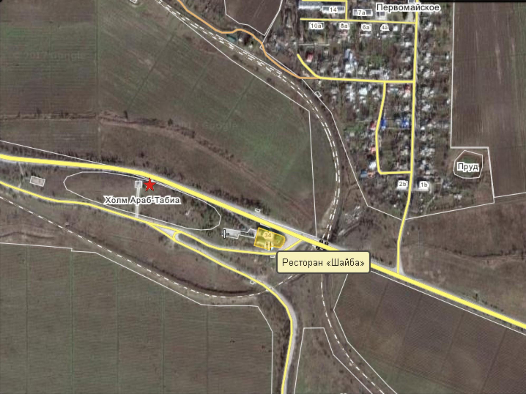 Карта п-к 2 сектор