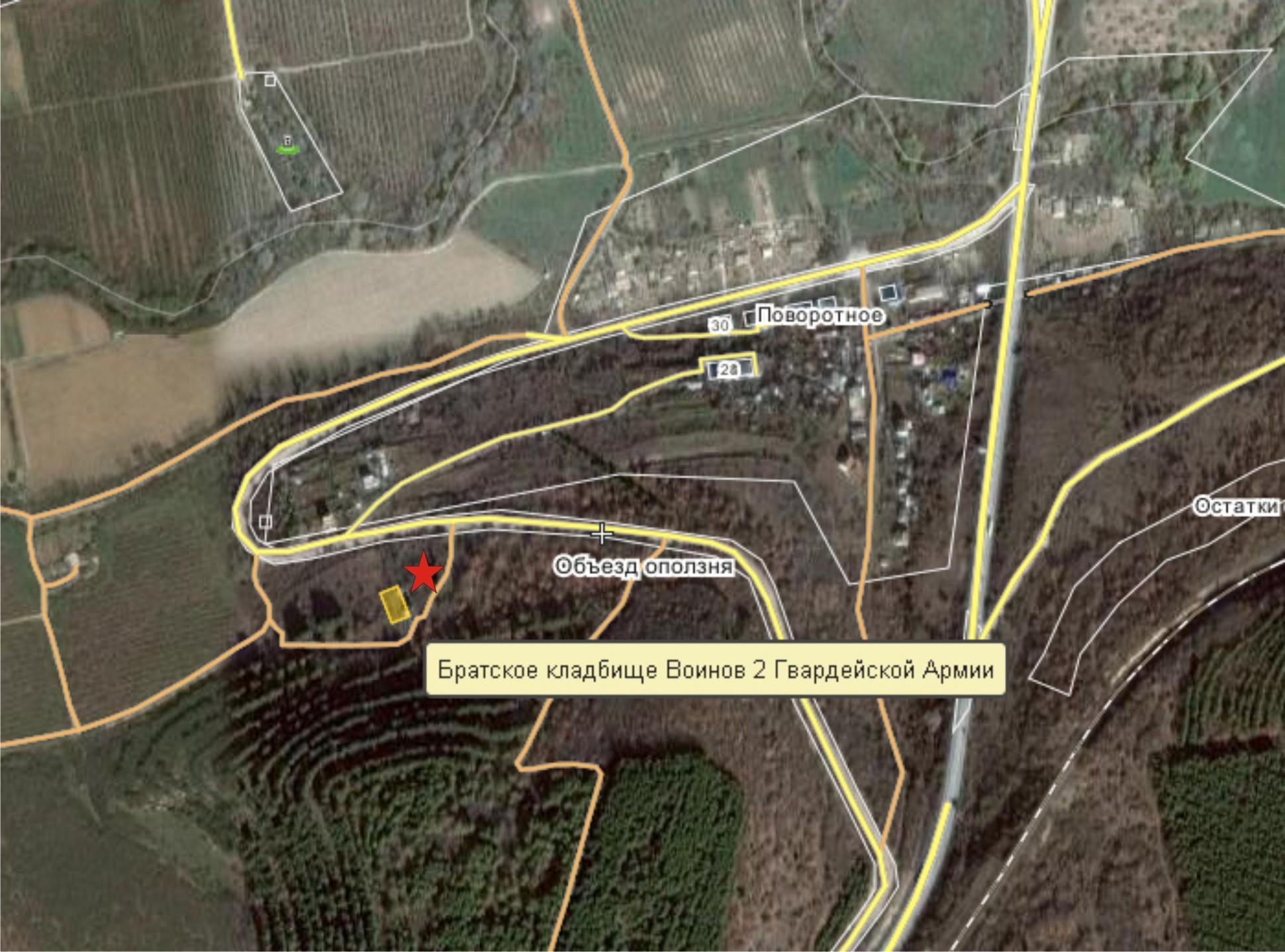 Карта п-к 4 сектор