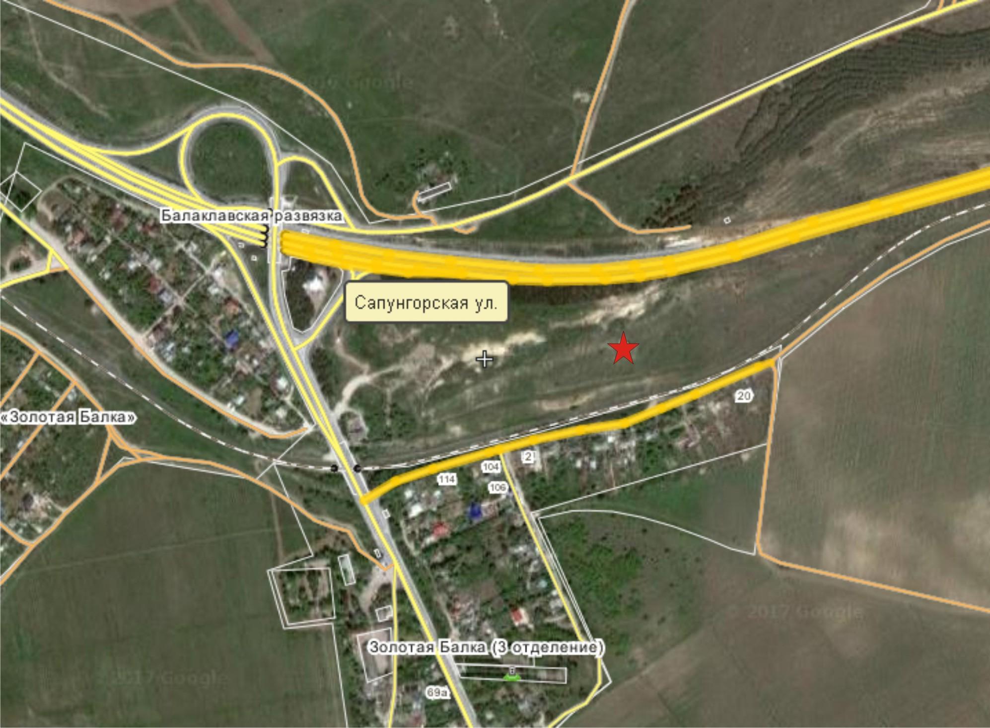 Карта п-к 1 сектор