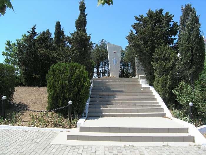 Вид памятника чекистам в 2009 г.